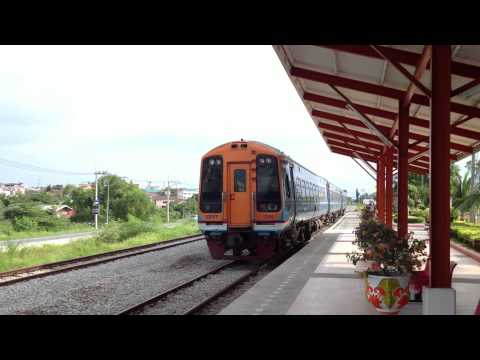 """Sprinter"" British Rail Class 158 @ Pattaya Railway station Thailand"
