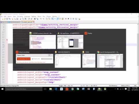 Android Studio First App for Beginners Step by Step tutorial in HINDI