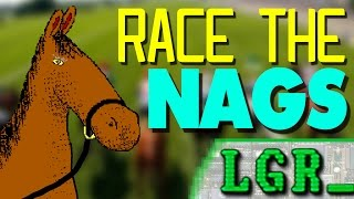 LGR - Race The Nags - DOS PC Game Review