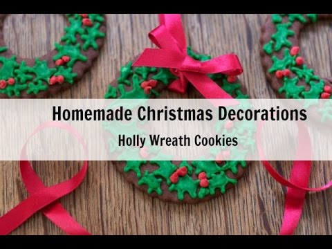 Christmas Wreath Cookies For Christmas Tree Easy Stylish