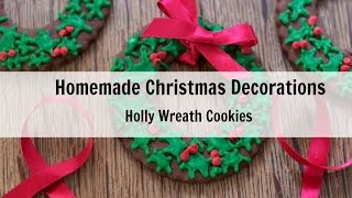 Christmas Wreath Cookies For Christmas Tree (easy, Stylish)