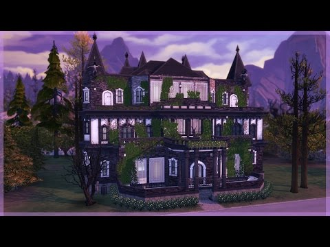 The Sims 4 Vampires | House Build | The Dark Palace