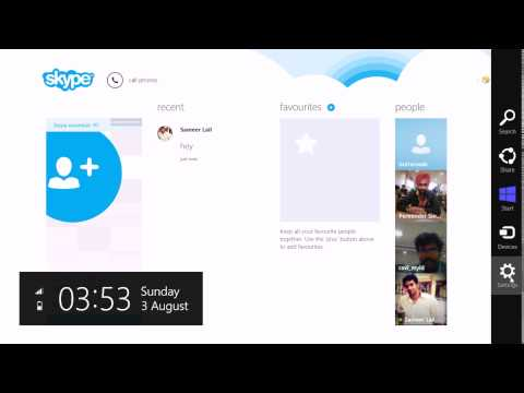 How To Delete Skype Chat On Windows 8