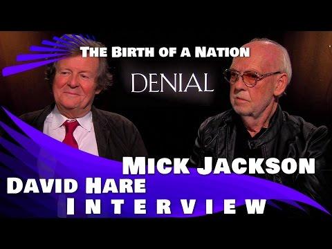 DENIAL - Writer David Hare and Director Mick Jackson Interview