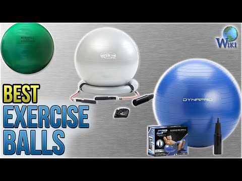 10 Best Exercise Balls 2018