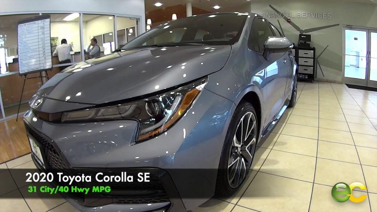 Toyota Corolla Mpg >> 2020 Toyota Corolla Mpg