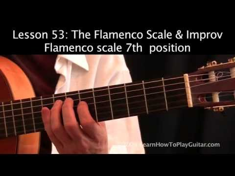 Instructional video on improvising on the Flamenco Scale