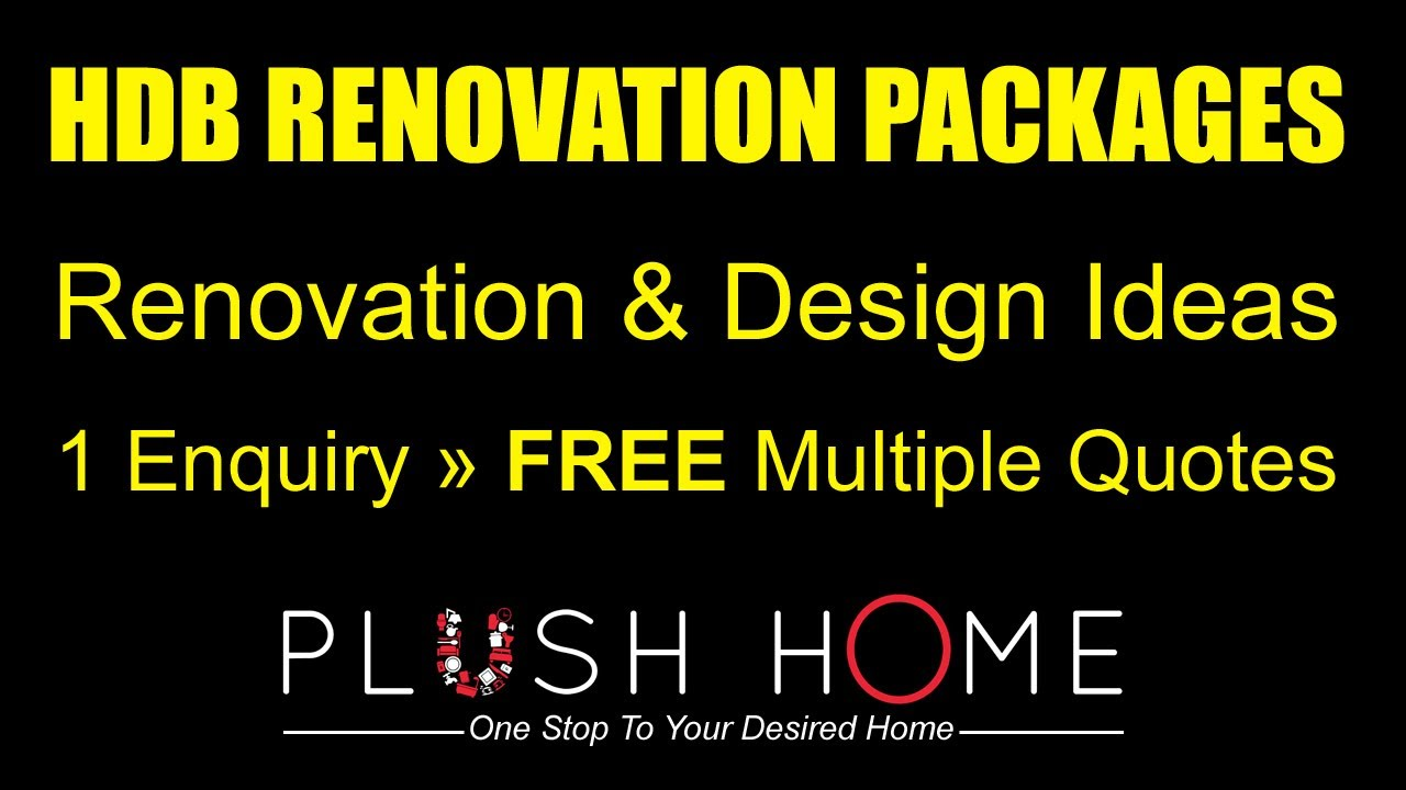 Compare Quotes Cool Hdb Renovation Packages Contractors & Designs Compare Quotes