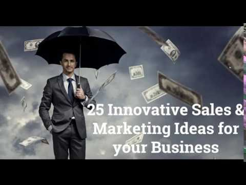 25 Innovative Sales and Marketing Ideas to Drive Business