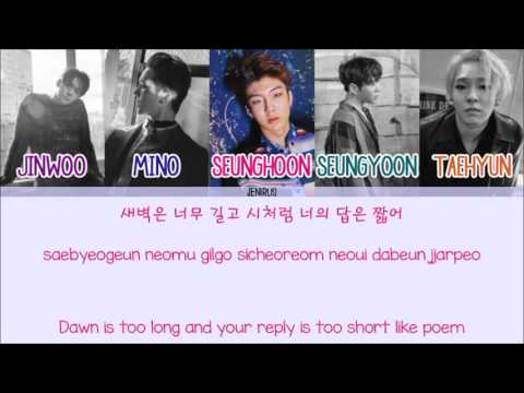Winner - Baby Baby [Eng/Rom/Han] Picture + Color Coded HD