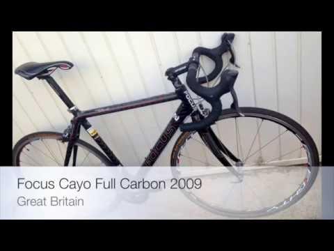 d9a4c888b23 Focus Cayo Full Carbon Road Bike 2009 - YouTube