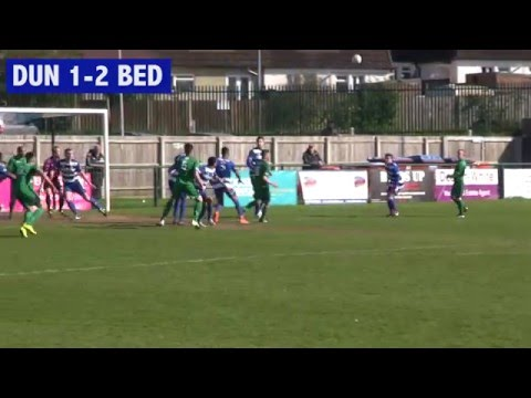 Match highlights: Dunstable Town 1-2 Bedworth United 23/04/16