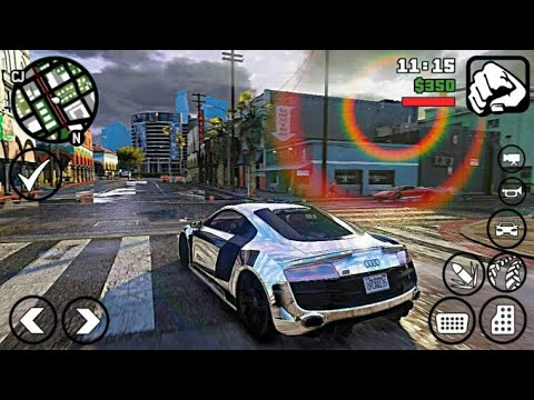 Top 10 Games LIKE GTA V For Android |HD|