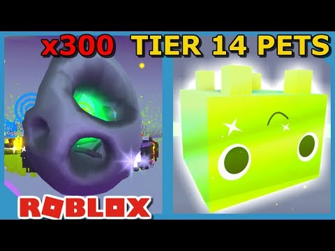 Roblox Pet Simulator Buying 14 Most Op Super Pets Buying 300 New Tier 14 Pets In Roblox Pet Simulator Golden Pets Youtube