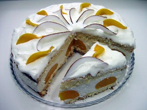 Торт Райское наслаждение / Очень лёгкий и нежный, пошаговый рецепт для праздничного стола