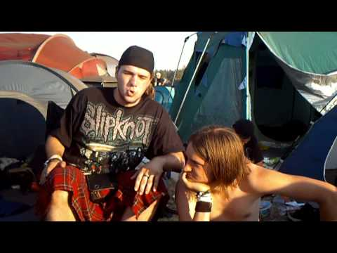 Graspop Metal Meeting 2010 Interview with the still growing band To Colourfull