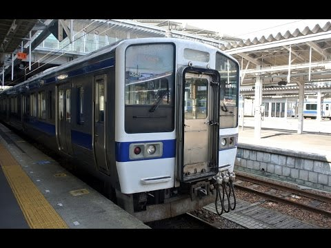 JR Jōban Line driver's view from Mito to Iwaki in Japan