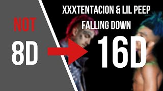 Lil Peep Xxxtentacion Falling Down 16D AUDIO NOT 8D.mp3
