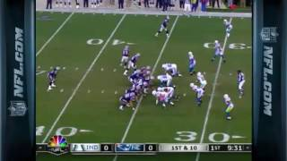 Brady Implodes W/4 INTS In loss to Manning, Colts