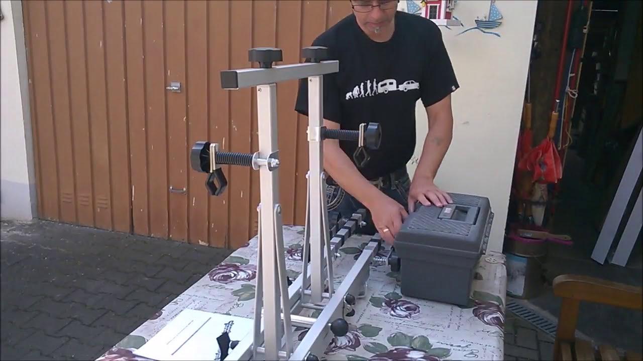 fahrrad deichseltr ger wohnwagen youtube. Black Bedroom Furniture Sets. Home Design Ideas