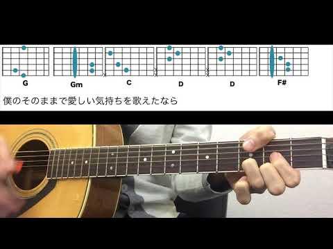 ●コード譜●瞬き - back number ギターコード - 映画『8年越しの花嫁 奇跡の実話』主題歌