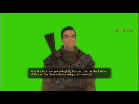 Fallout NV: Triggered Private Kowalski Green Screen