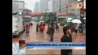 Tanggul Latuharhari Siaga 1 | Jakarta Banjir 2014