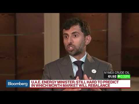 UAE Energy & Industry Minister on OPEC Alliance, Oil Inventories