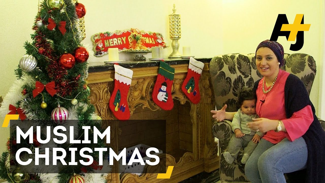 Muslims In The Middle East Celebrate Christmas - YouTube
