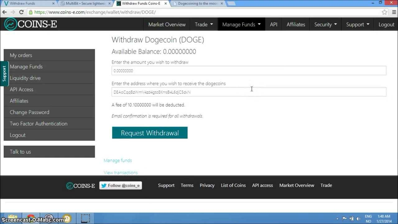 how to buy dogecoin using coinbase