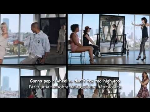 PHARRELL WILLIAMS ft MILEY CYRUS COME GET IT BAE Official Video Lyrics Legendado 2014