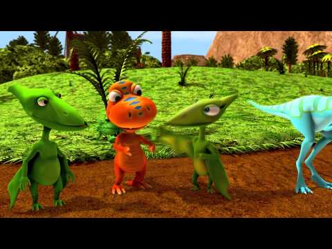 Ornithomimus Corner - Dinosaur Train - The Jim Henson Company