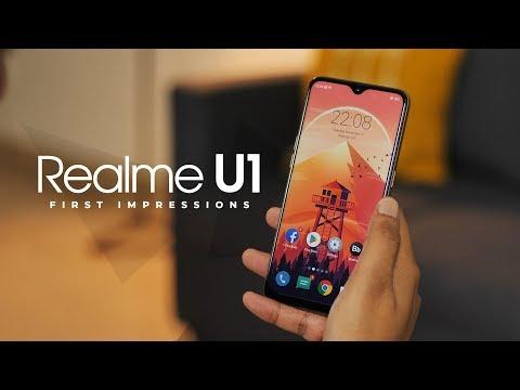 Realme U1 First Impressions!