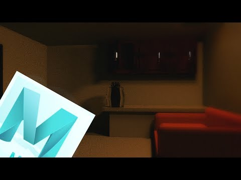How to create a realistic Room Render in Maya 2017