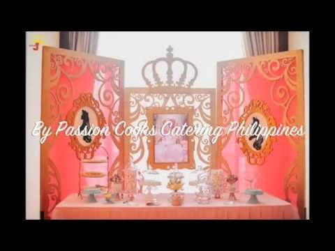 Sleeping beauty themed birthday party - Little Wish Parties childrens party blog