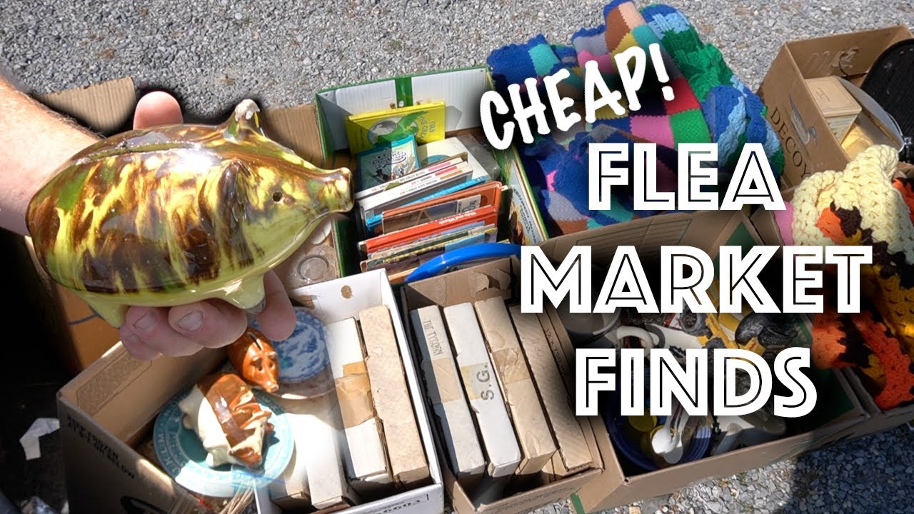 CHEAP Flea Market Finds for Ebay | Shop with Us | Reselling