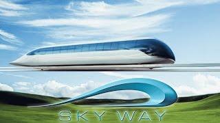 Presentazione Skyway - innovativo sistema di trasporto ecologico ad alta velocit.
