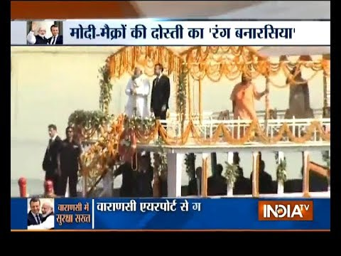 India TV special show on PM Modi and French President Macron's Varanasi visit