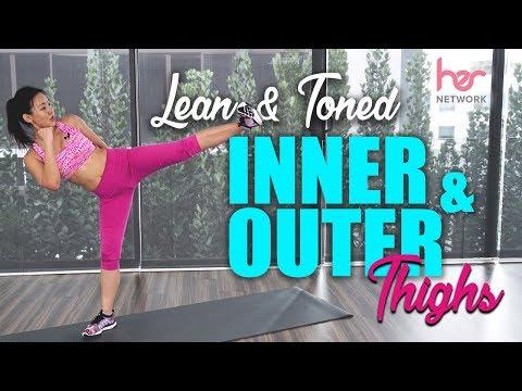 Inner & Outer Thighs Kickboxing Blaster | Lean & Toned | Joanna Soh