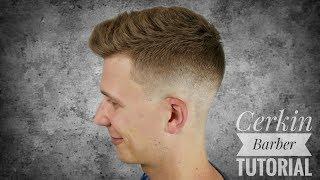 Herren Haarschnitt Mit Ubergang