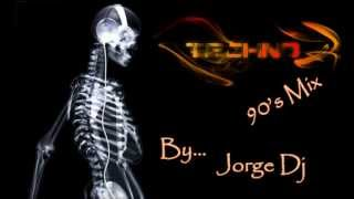 90's Mix Techno & Industrial - JorG Dj