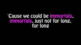 "Fall Out Boy - Immortals (Lyric video) [From ""Big Hero 6""]"