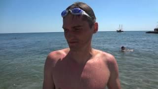 Крым. Курортное. Пляж и море.(, 2014-06-29T12:51:29.000Z)