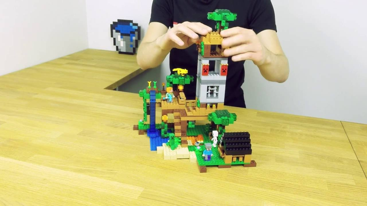 The Jungle Tree House Lego Minecraft Building
