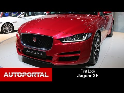 Jaguar XE First Look - Autoportal