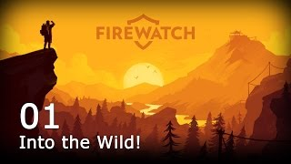 Firewatch [01] [Into the Wild] [Let's Play Deutsch] [Gameplay German HD] thumbnail