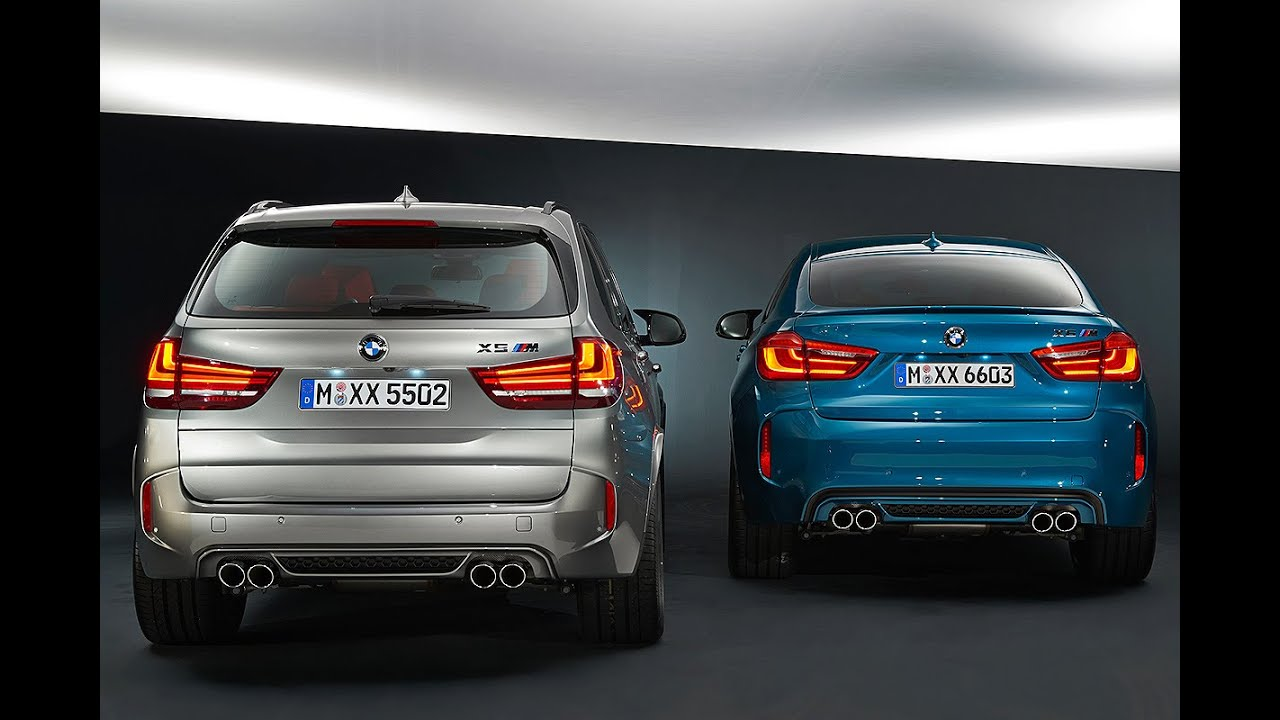 Bmw X5 M X6 M 2015 Youtube