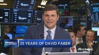 Celebrating David Faber's 25 years on CNBC