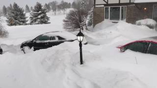 bismarck north dakota christmas blizzard 2016 all time record
