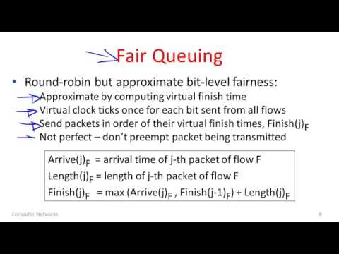 Computer Networks 9 4  Fair Queuing   YouTube 360p